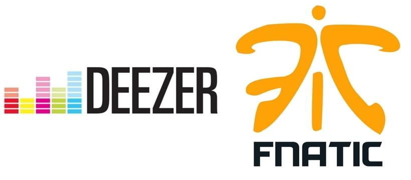 Deezer Fnatic logos