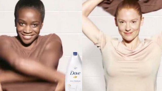 Une publicité Dove jugée raciste