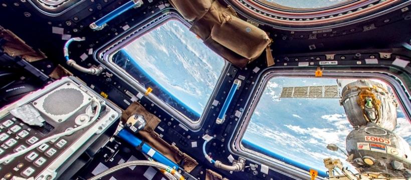Google Maps ISS