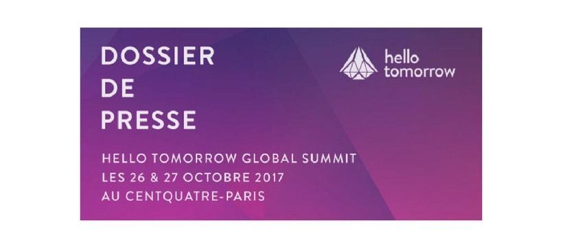 affiche du Hello Tomorrow Global Summit