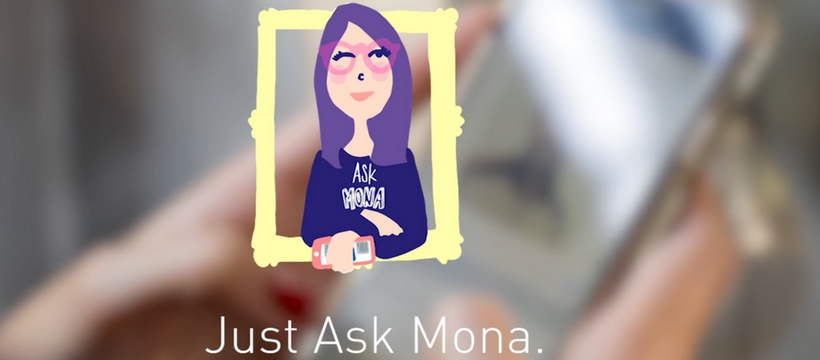 publicité Aske Mona