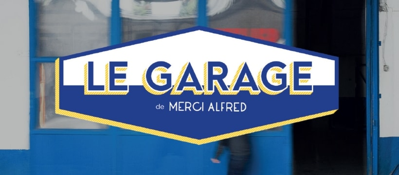 affiche du Garage Merci alfred
