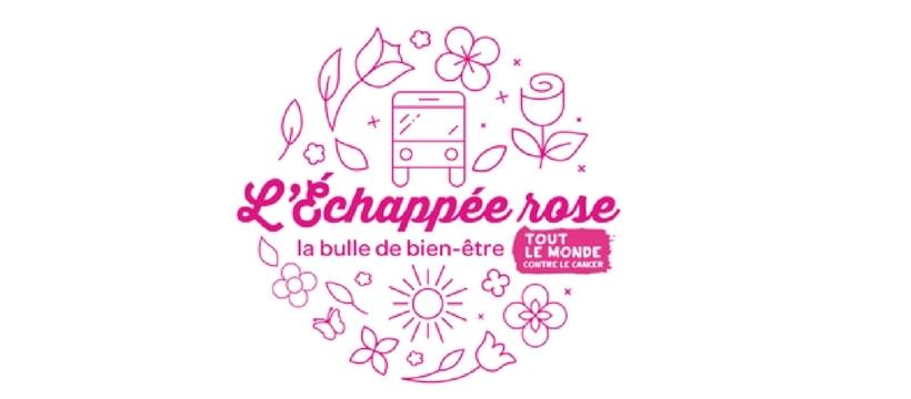 logo de loperation echapee rose