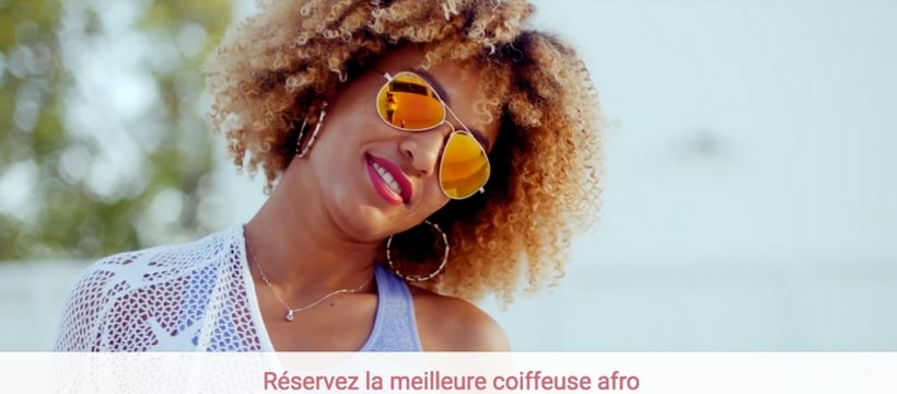 homepage de ma coiffeuse afro