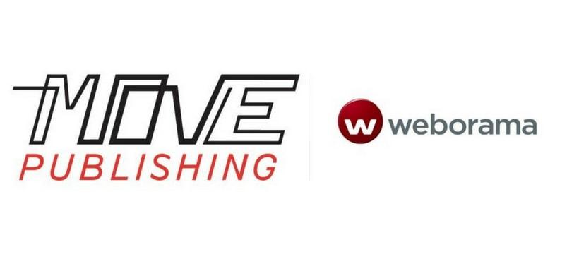 Move Weborama logos