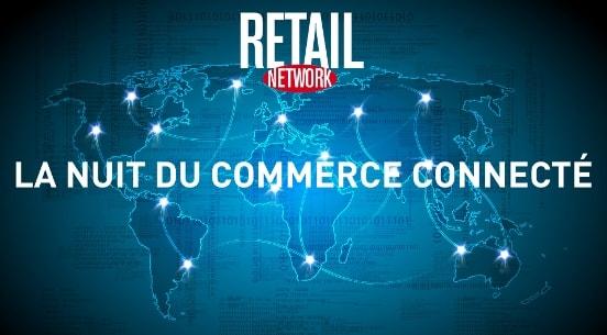 Affiche nuit du commerce connecte