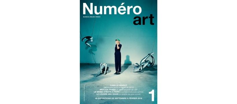 une du magazine numero art