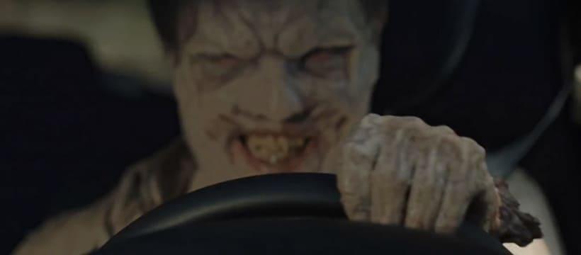 zombie qui fait un creneau