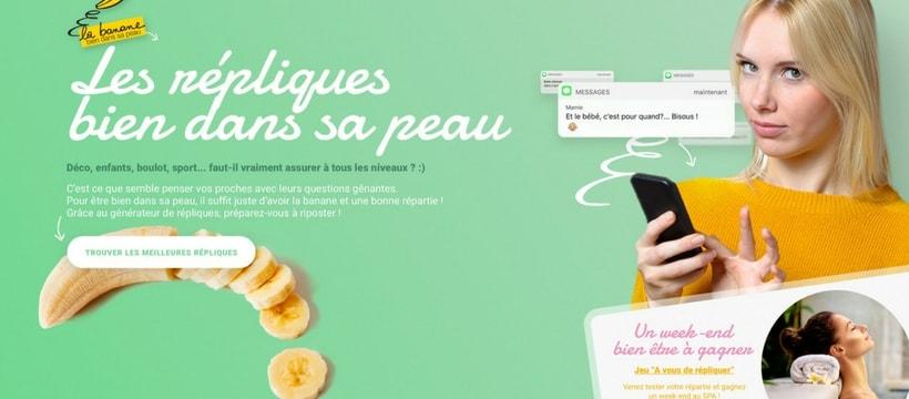 homepage du site de lassociation interprofessionnelle de la banane