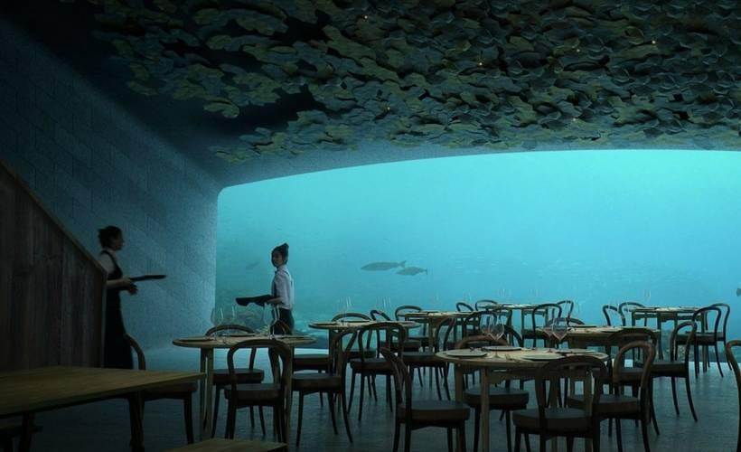 restaurant under