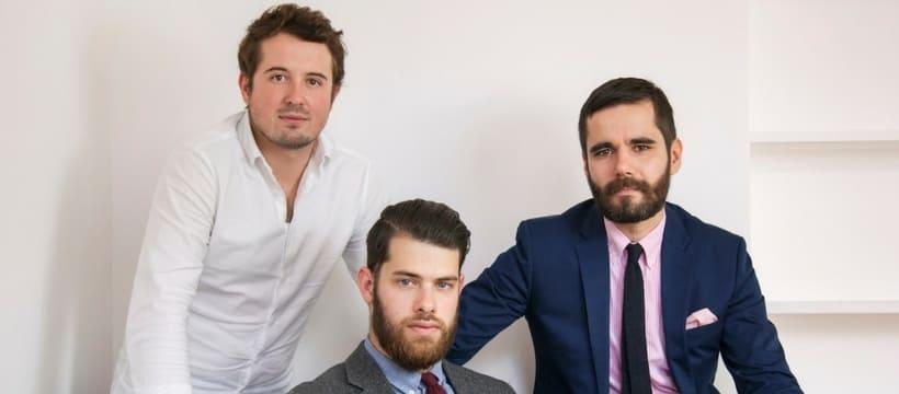 trois hommes nommes chez rosapark