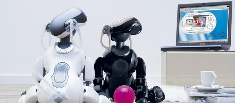 Chiens robot de Sony