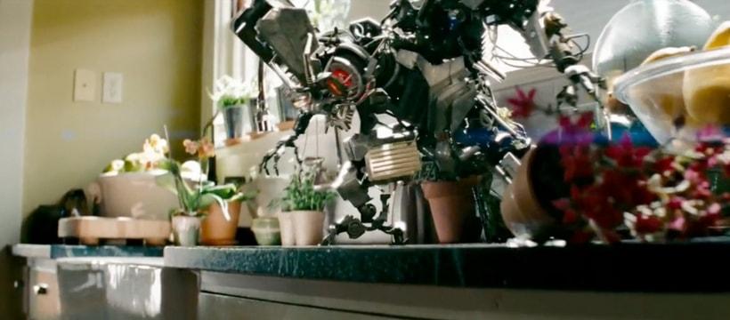 Une scène de Transformers 2
