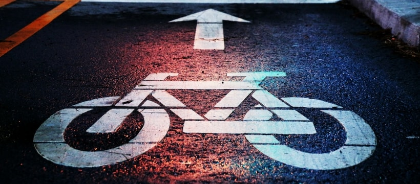 Signe indiquant une piste cyclable