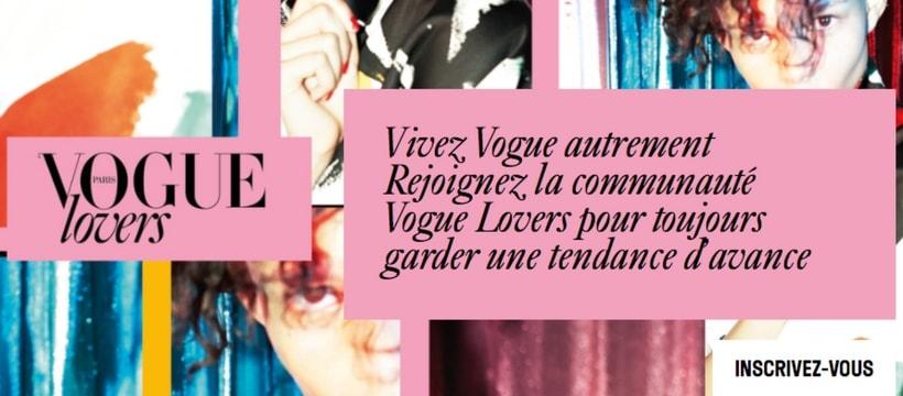 homepage du club vogue lovers