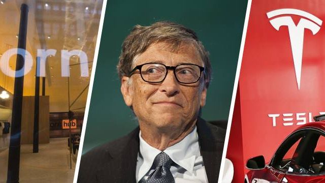 Pornhub Bill Gates Tesla