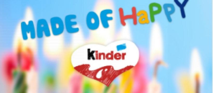 Kinder fête ses 50 ans