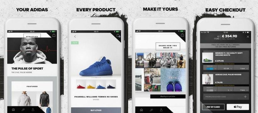 application adidas
