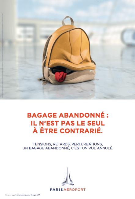 Bagage abandonne