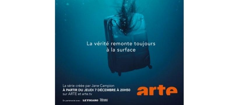 affiche de la nouvelle serie arte