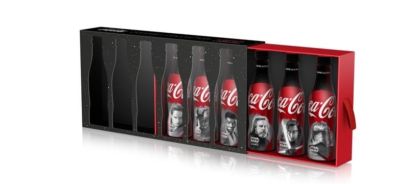 bouteilles de coca cola star wars