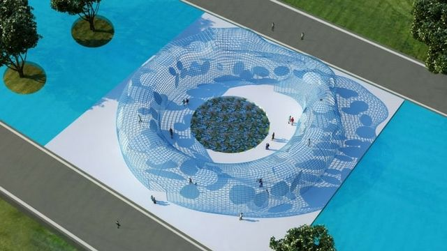 Un projet architectural imagine la réunification des deux Corées