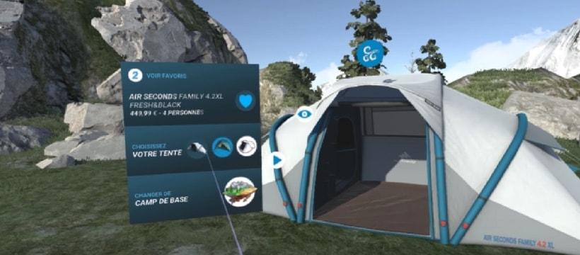 L'utilisation de la Réalité Virtuelle par Decathlon
