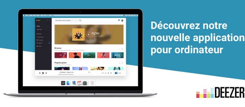 nouvelle application deezer