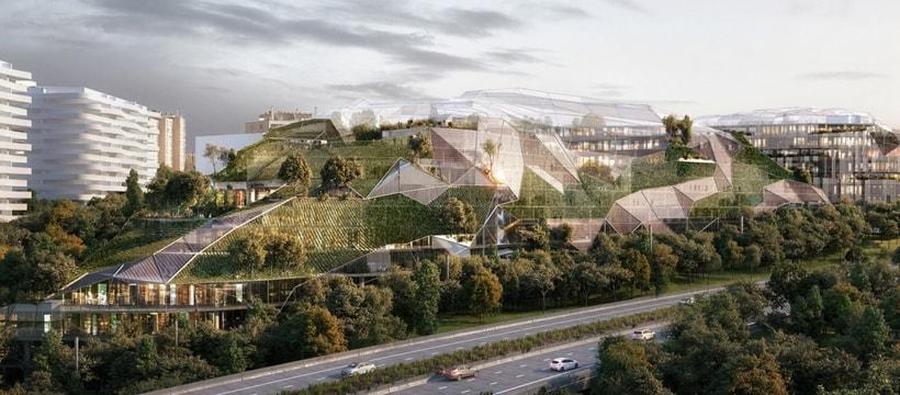 Ecotone, le projet d'architecture lauréat du concours « Inventons la Métropole du Grand Paris