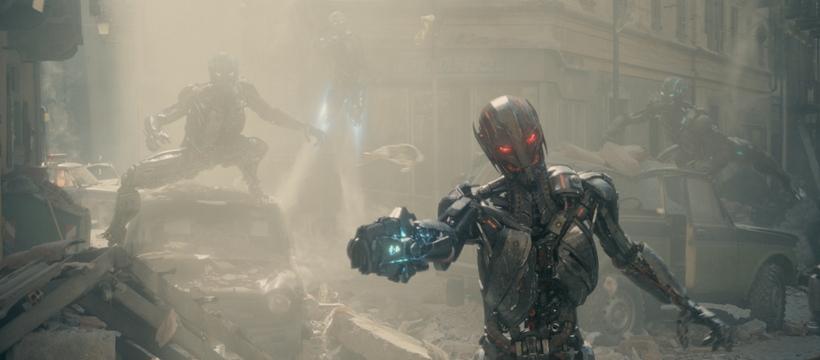 Robots de Avengers Age Of Ultron