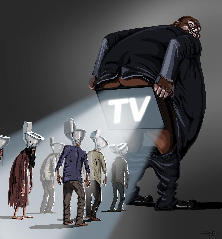 abrutissement et télévision