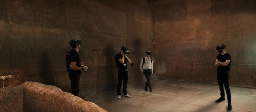 exploration dune pyramide en VR