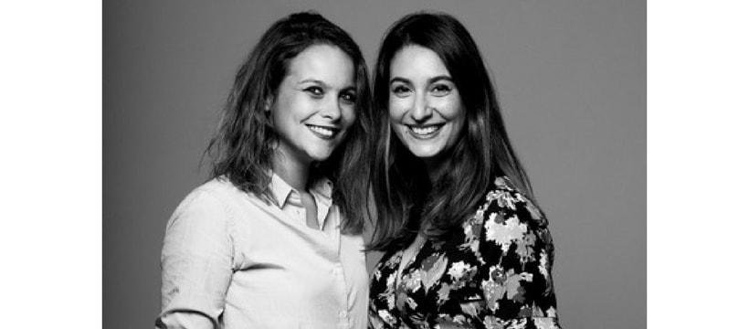 Lauriane Fressy et Astrid Garandeau