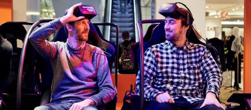 realite virtuelle pour le noel des galeries lafayette