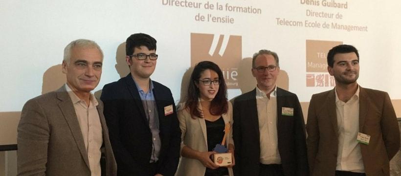 gagnants prix Trophée Start-Up Numérique