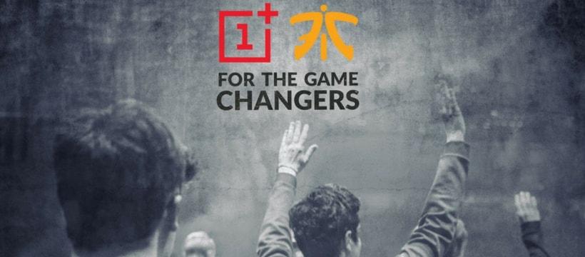 logos fnatic et OnePlus