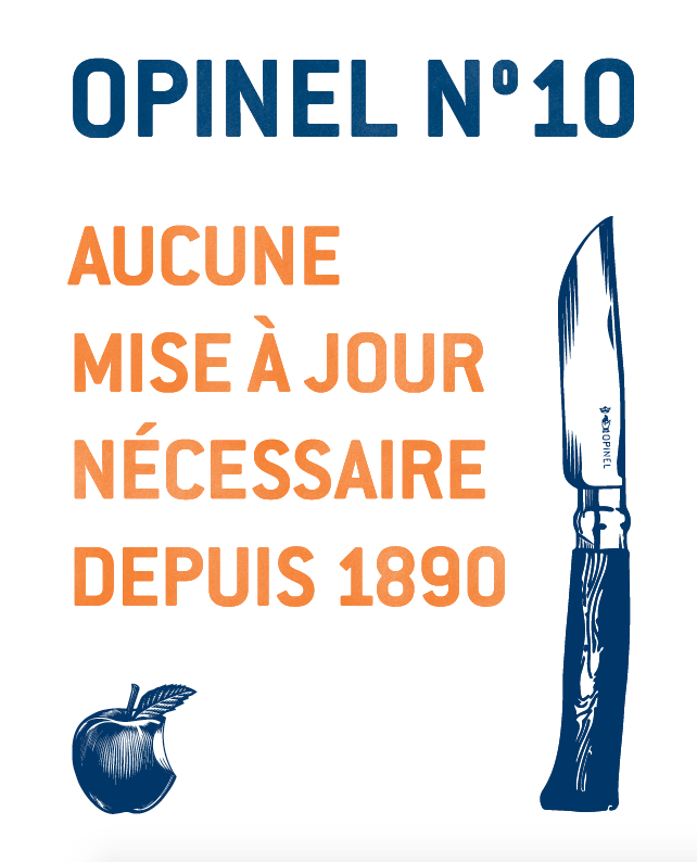 affiche Opinel