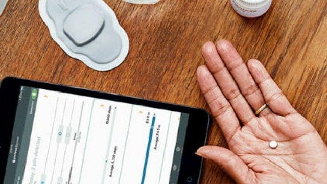 pilule qui donne des informations de sante via une application