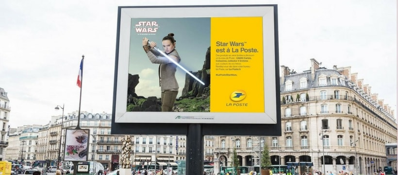 campagne daffichage star wars