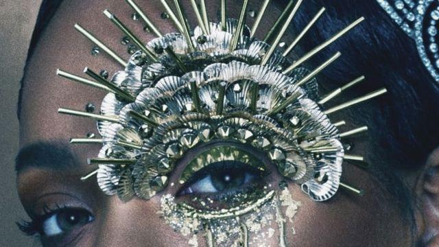 Rihanna Makeup by Pat McGraph