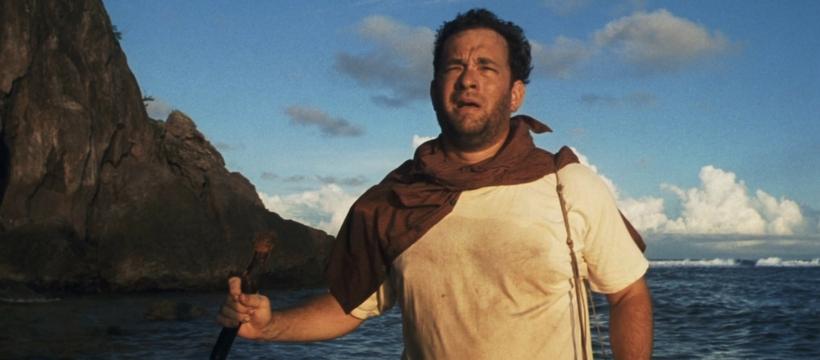 Tom Hanks seul au monde