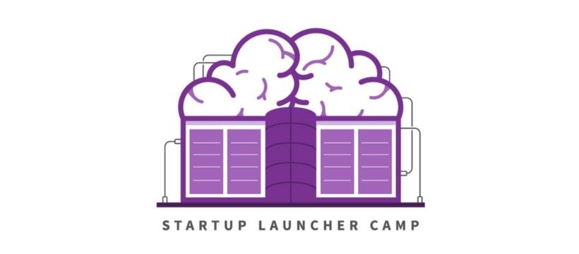 Startup launcher camp logo