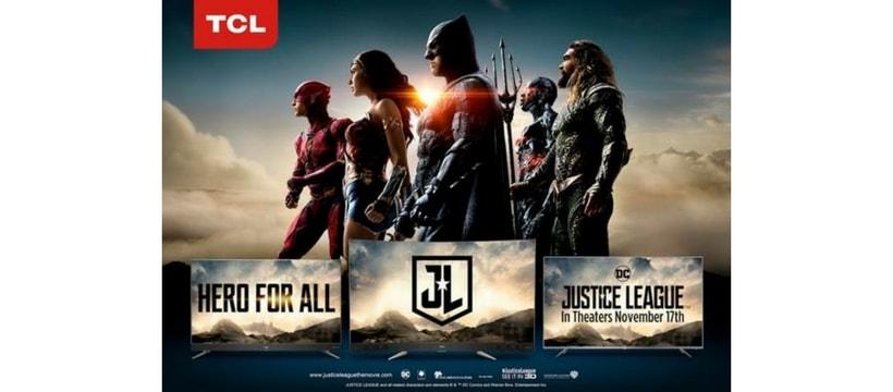 affiche de justice league