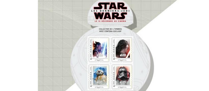 timbres la poste star wars