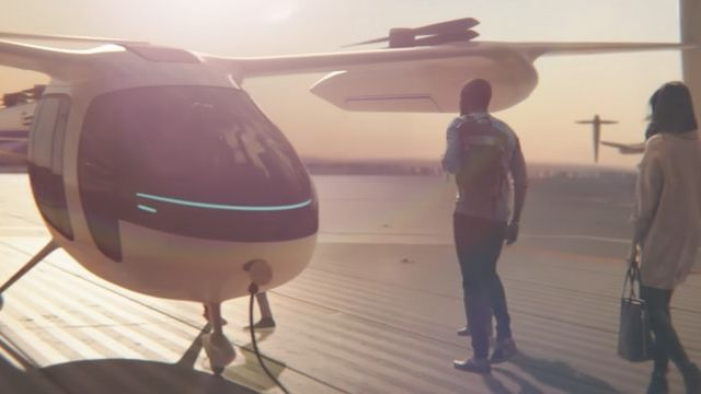 Uber Elevate, les voitures volantes d'Uber