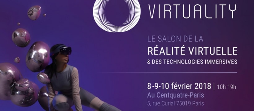 Affiche du salon virtuality