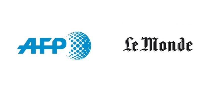 Logo du monde et de lAFP
