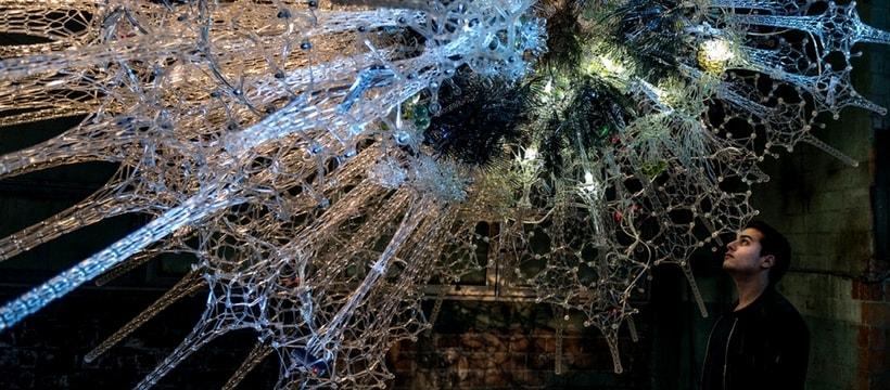 oeuvre d'art cellules neuronales