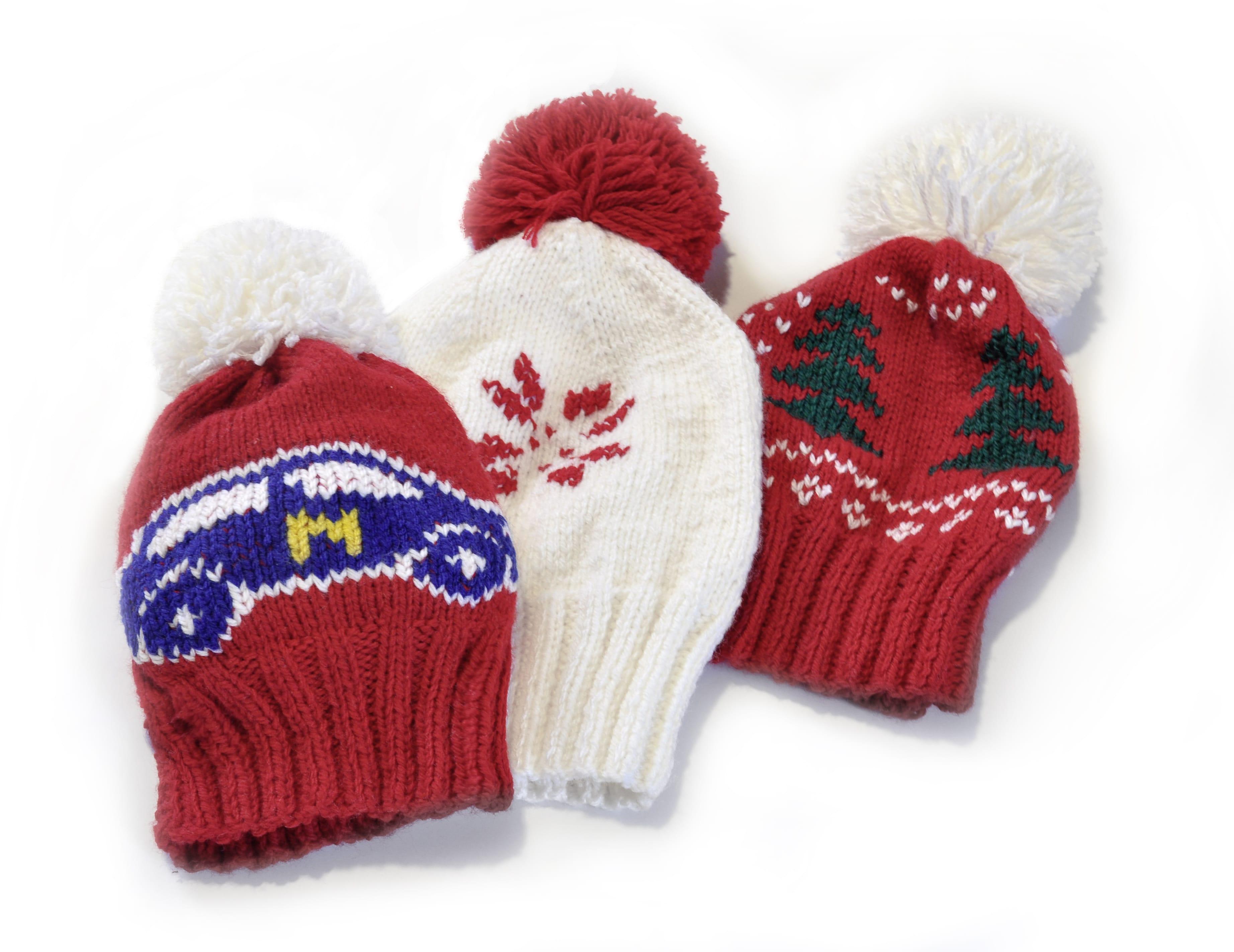 bonnets tricotes