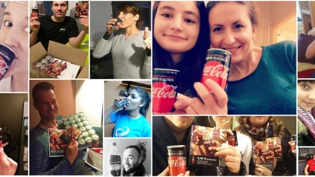 Coca Cola campagne collaborative